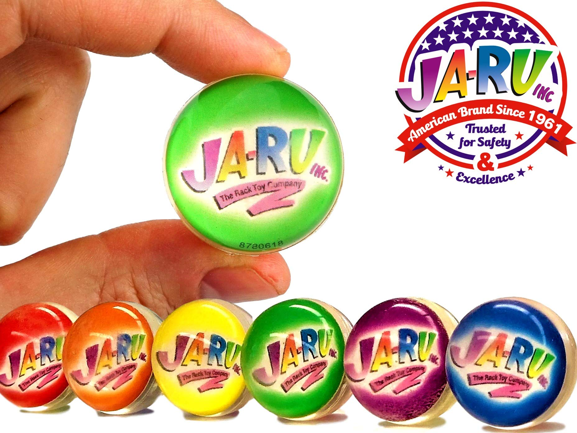 JA-RU Light Up Bead Ball Squeezing Stress Relief Ball (Pack of 72 Units) and One Bouncy Ball - for Kids & Adults Item #4205-72 by JA-RU (Image #1)
