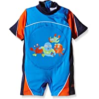 Zoggs Boys' Zoggy Swimfree Floatsuit - Red, 2-3 Years