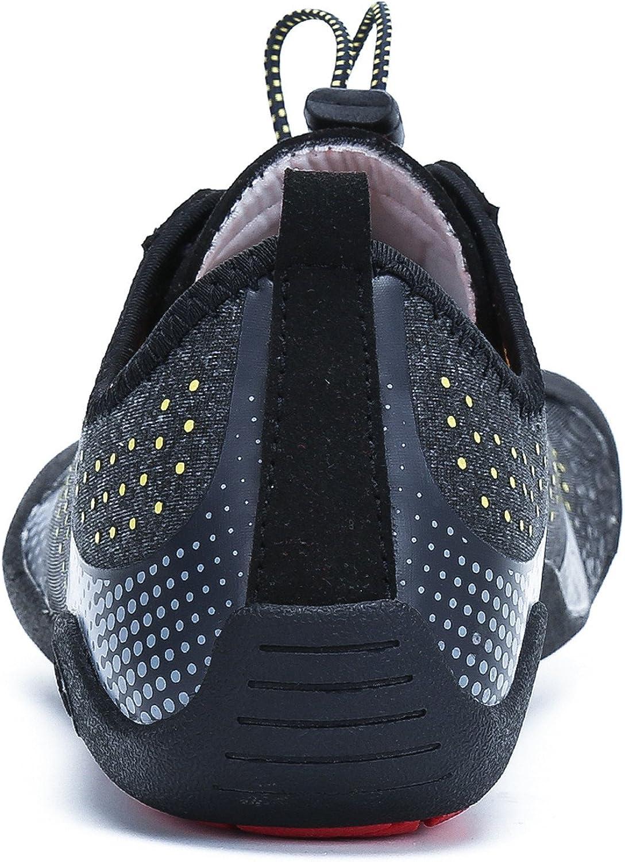 Homme Femme Chaussures Aquatique /à S/échage Rapide Pieds Nus Plong/ée Piscine Plage Marche Chaussettes de Sport