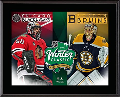 Image Unavailable. Image not available for. Color  2019 NHL Winter Classic  Boston Bruins vs. Chicago Blackhawks 10.5 quot ... fa4c39918