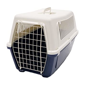 Rosewood Vision Classic - Transportín para Gatos y Mascotas (60 cm), Color Azul: Amazon.es: Productos para mascotas
