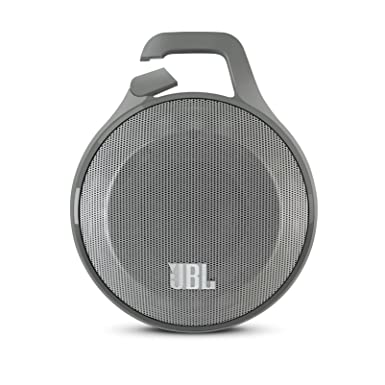jbl portable bluetooth speakers. jbl clip portable bluetooth speaker with mic (grey) jbl speakers