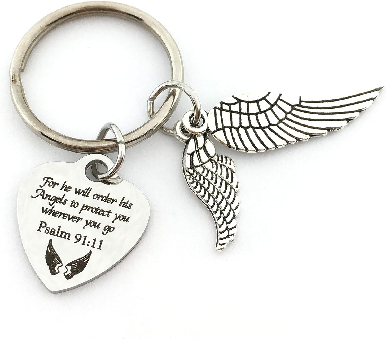 Backpack Charm Keychain Charm Silver Angel Wings Purse Charm Handbag Charm Zipper Charm Great Small Gift