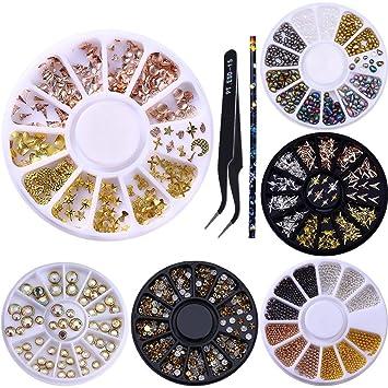 Mix Ab Strass Kristall Edelsteine Glitter Perle Diamant Nail Art Dekoration Polnischen 3d Tipps Diy Rad Schmuck Telefon Maniküre Werkzeuge Nails Art & Werkzeuge