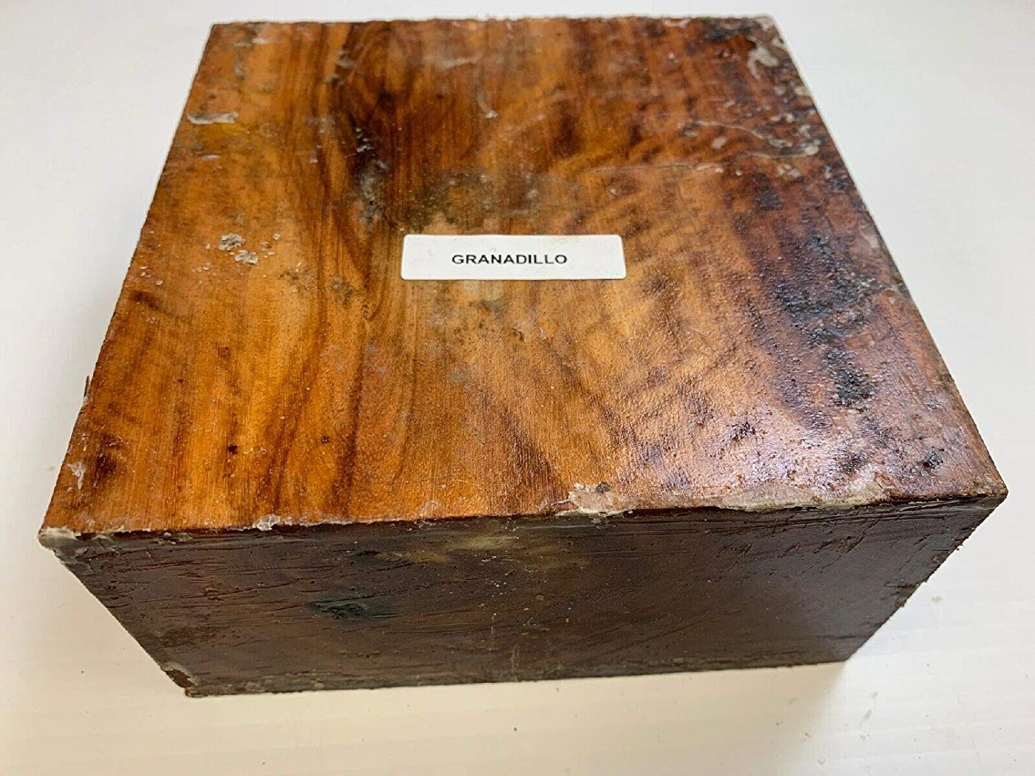 5 X 5 X 2 Beautiful Black Palm Bowl Blanks for Turning Suitable Carving//Whittling Block