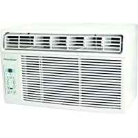Keystone 12,000 BTU Window-Mounted Air Conditioner with Follow Me LCD Remote Control, White