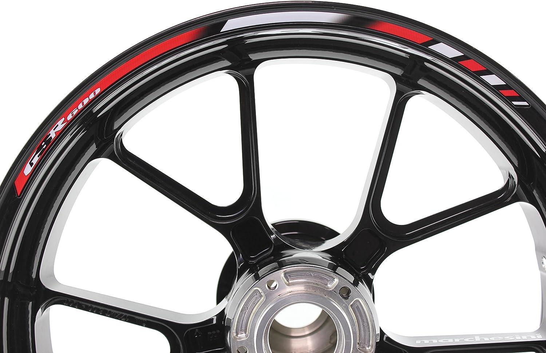 Liserets de Jantes SpecialGP Moto Suzuki GSR 600 Rouge Autocollants