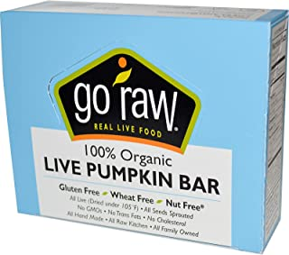product image for GO RAW Live Pumpkin Bar Case, 0.45 OZ