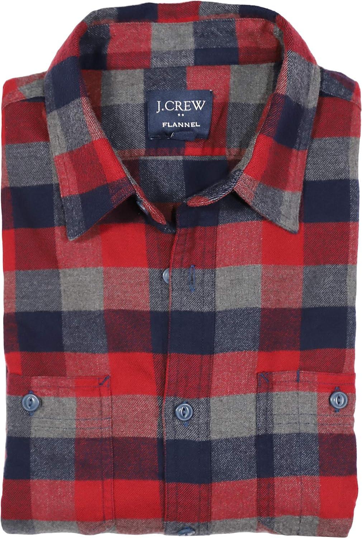 B084JP1TGV J.Crew Mercantile Men's Slim-fit Long-Sleeve Buffalo Check Flannel Shirt 81k%2BPwF2JlL