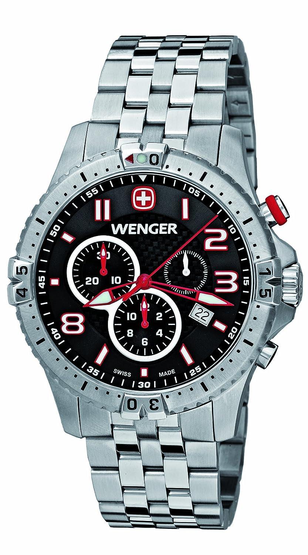 [ウェンガー]WENGER 腕時計 スクアドロンクロノ 77056 メンズ 【正規輸入品】 B0052WC1US