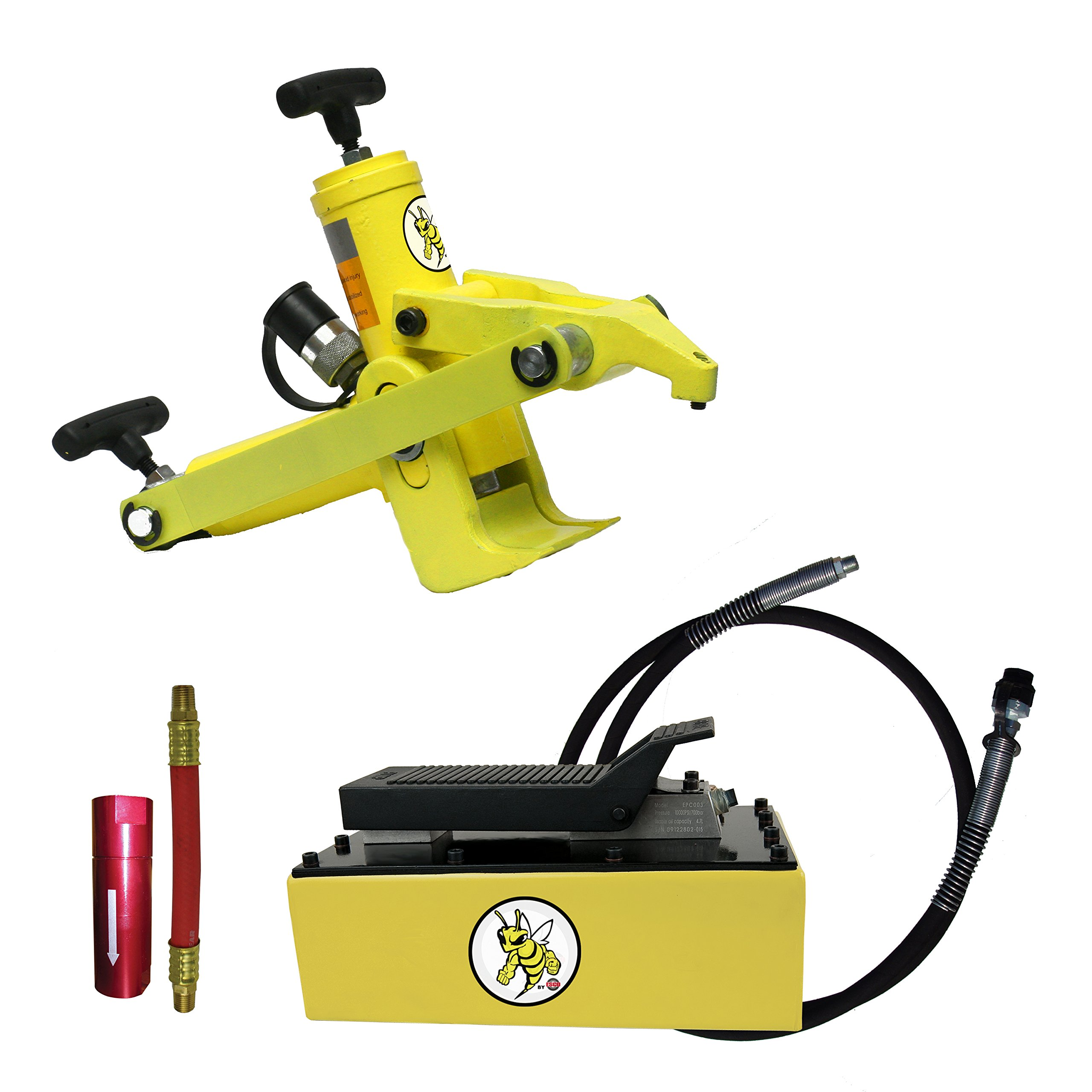 ESCO 10821 Yellow Jackit Economy Combi Style Bead Breaker Kit with Metal Pump by Esco (Image #1)