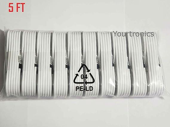 Amazon.com: Cable de carga rápida micro USB para Samsung ...