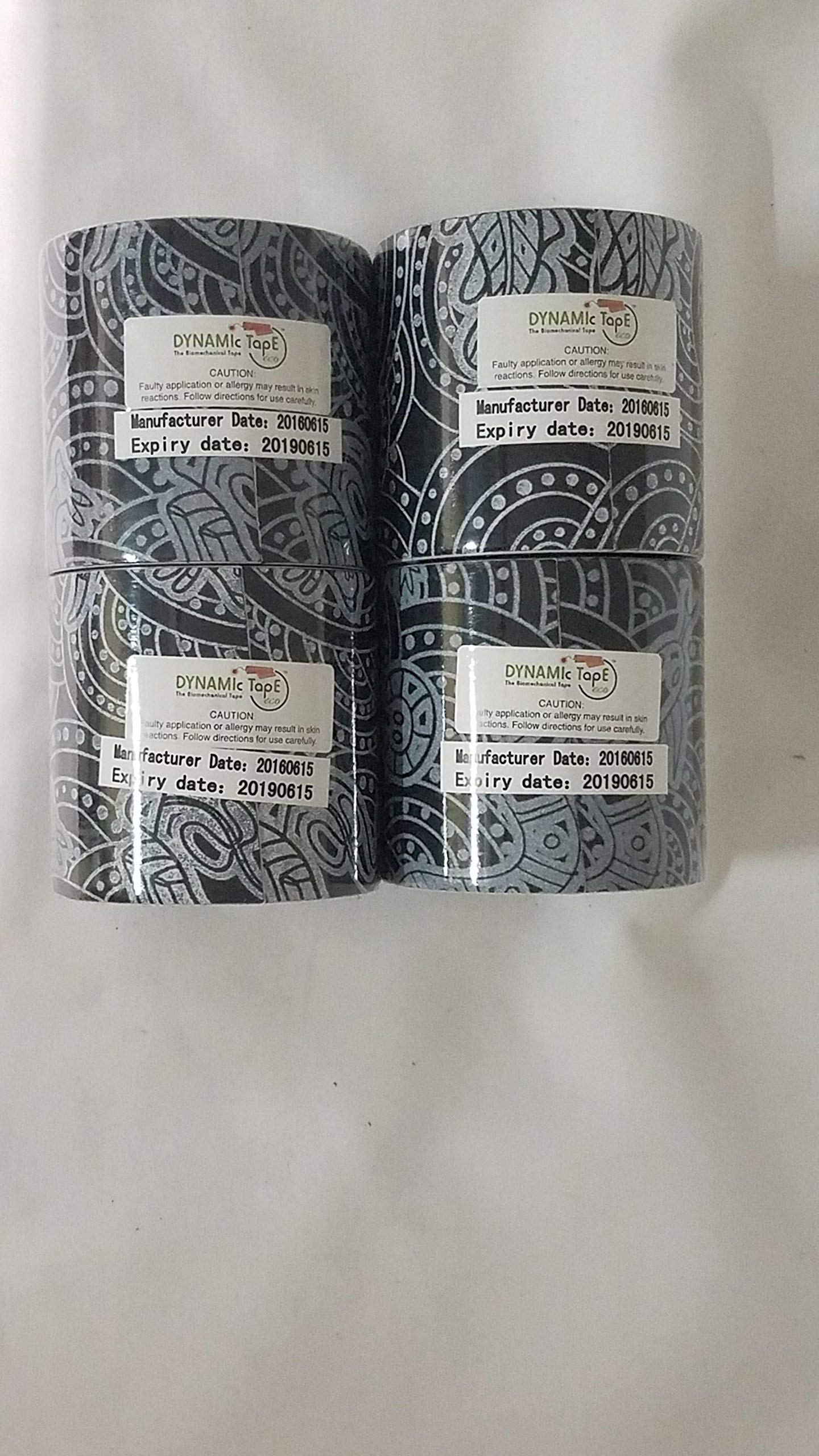Dynamic Tape Eco Black Tattoo Tape - 4 - 3 in x 16.4 ft