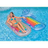 INTEX King Kool Lounge Swimming Pool Lounger with Headrest - Set of 2 (Pair) by Intex