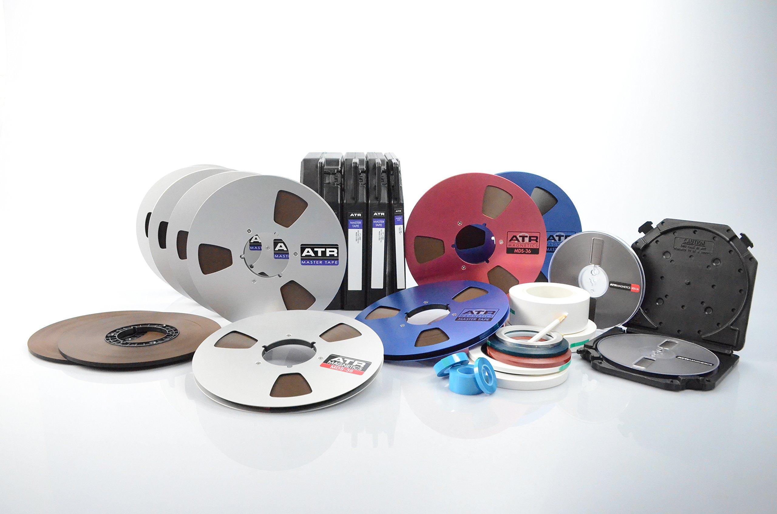 "Premium Analog Recording Tape by ATR Magnetics   1/4"" Master Tape - Modern Classic Sound   NAB Hub   2500' of Analog Tape"