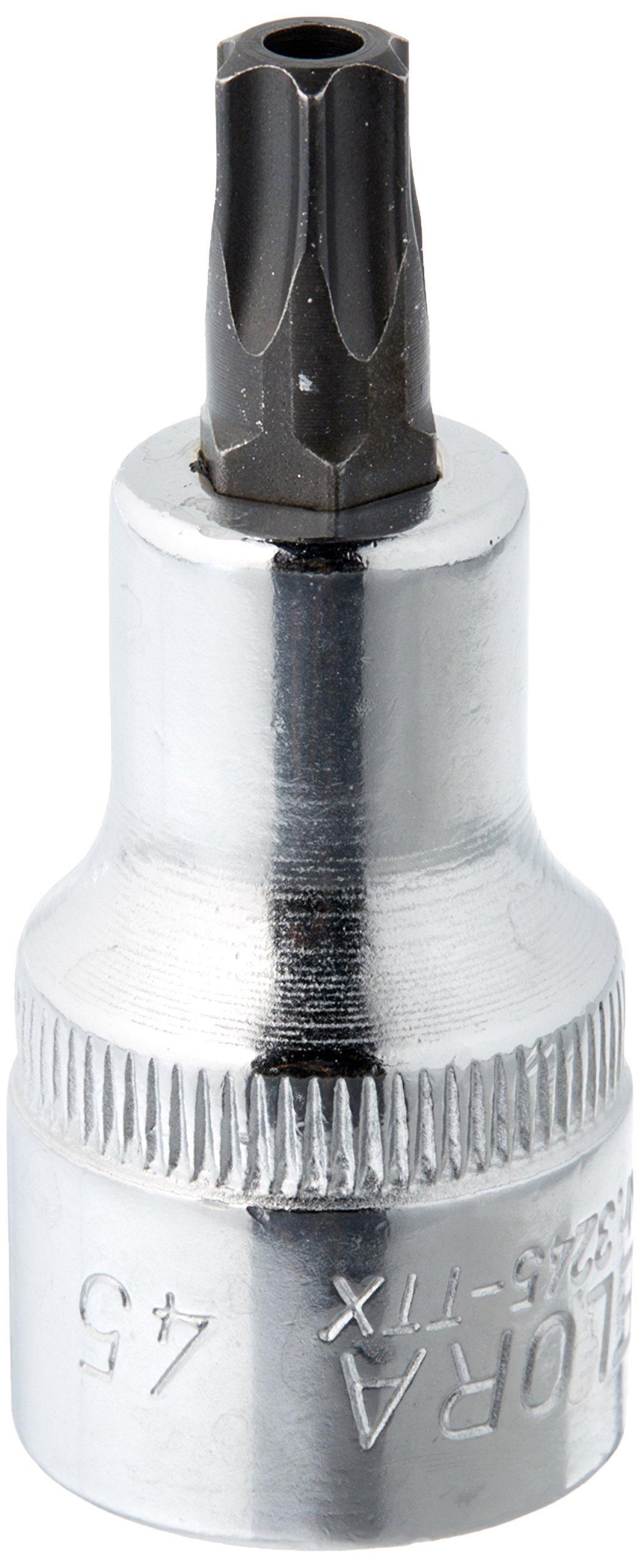 Elora 3245020451000 Screwdriver socket 1/2'' for TORX safety screws Size 45