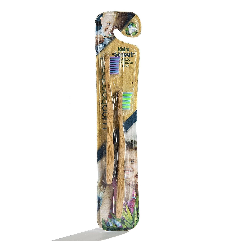 WooBamboo - Cepillo de dientes para niños, aprobado por ...