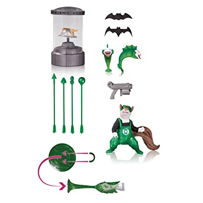 DC Collectibles DC Comics Icon: Set 1 Accessory Pack: Toys & Games