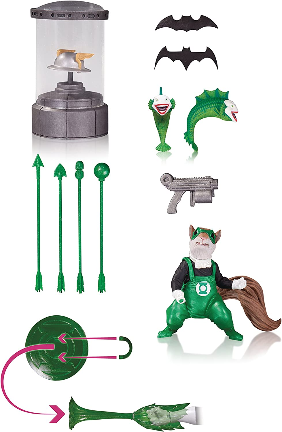 DC Collectibles DC Comics Icon Set 1 Accessory Pack