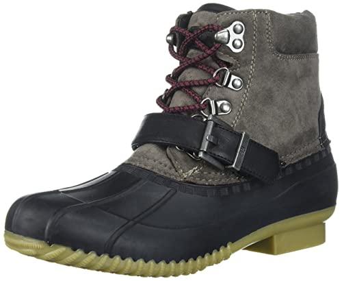 814c56d64aea Tommy Hilfiger Regin Snow Boot Black 6 B(M) US  Buy Online at Low Prices in  India - Amazon.in