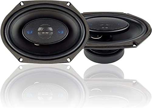 Blaupunkt 6 x 8-Inch 300W 4-Way Coaxial Car Audio Speaker