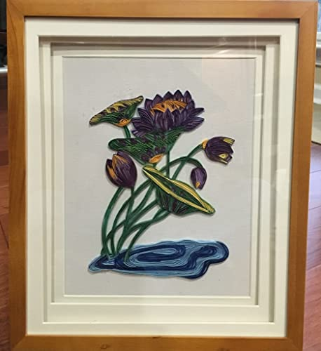Amazoncom Paper Quilling Art In A Shadow Box Handmade