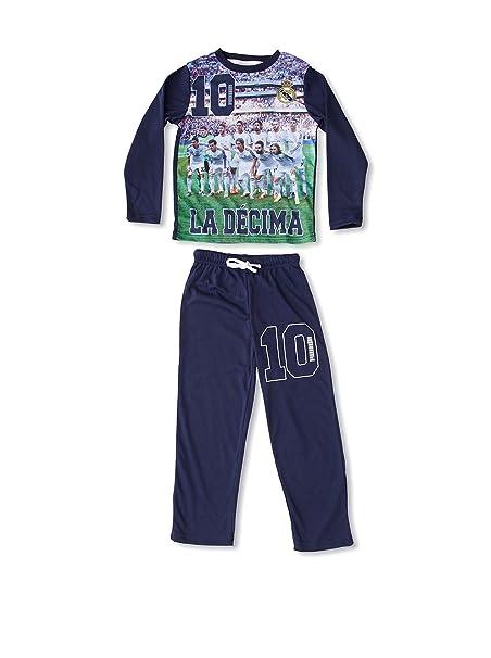 Real Madrid La Décima Pijama Azul 6 años (116 cm)  Amazon.es  Ropa y ... a71b865bcb820