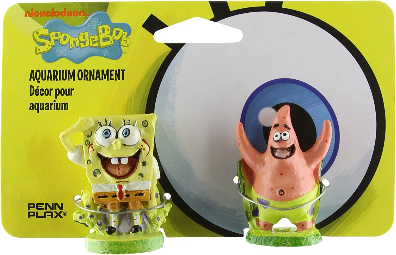 Penn-Plax Spongebob & Patrick Aquarium Ornament