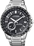 Citizen Herren-Armbanduhr Satellite Wave Analog Quarz Edelstahl CC3005-51E