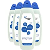 Mountain Falls Deep Moisturizing Nourishing Body Wash for Dry Skin with Natural Moisturizers, Compare to Dove, 24 Fluid Ounce (Pack of 4)