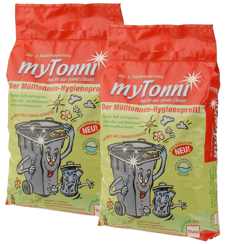 myTonni Bio- und Mülltonnenstreu 10 Liter Beutel im *2er-Sparpack ...