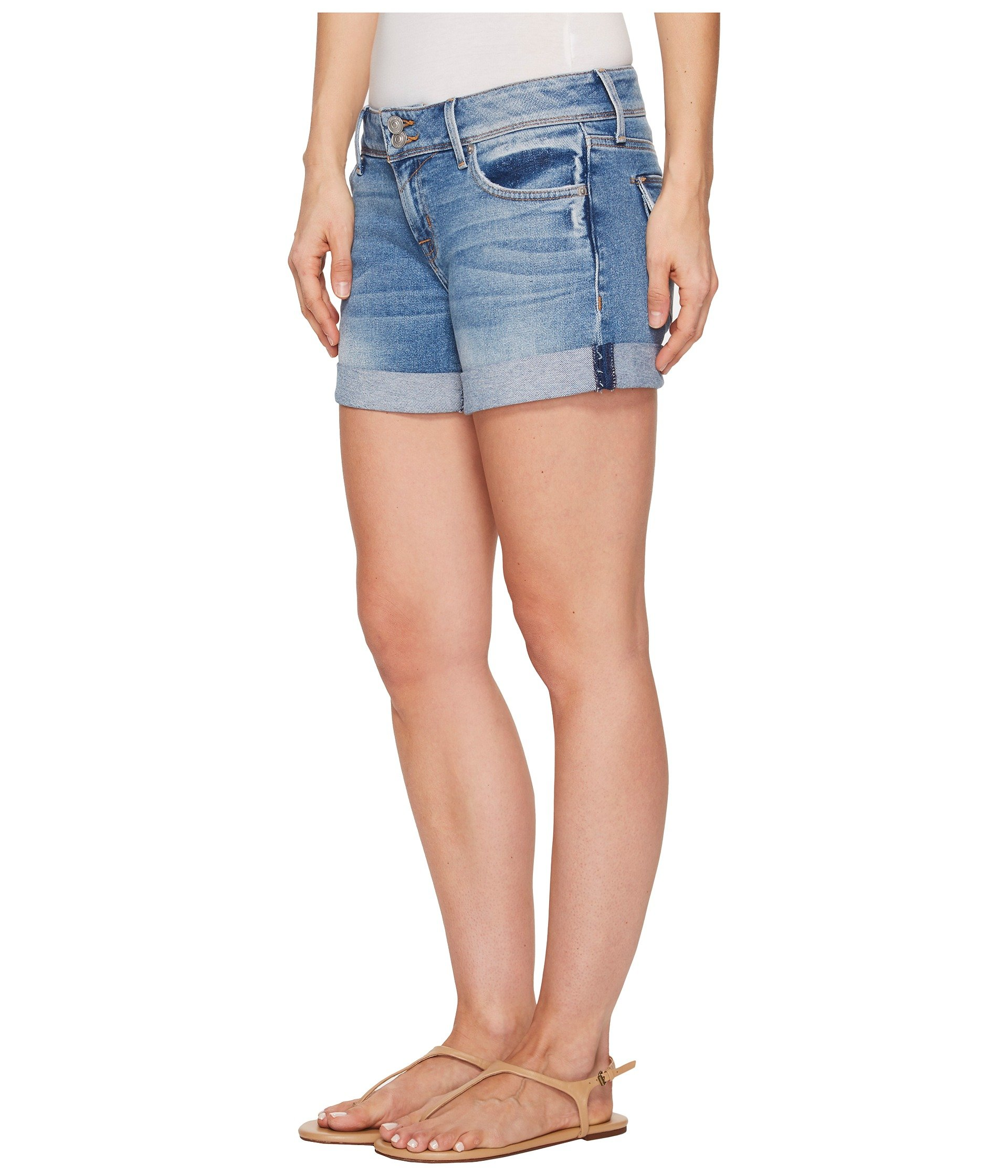 Hudson Jeans Women's Croxley Mid Thigh Flap Pocket Short, Rolling Hills, 31 by Hudson Jeans (Image #3)