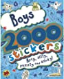 2000 Stickers Boys