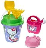 Simba 107113032 - Hello Kitty - Sand-Eimer-garnitur groß, sortiert, 6-tlg.