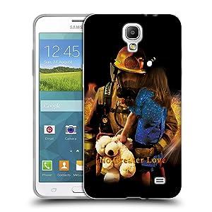 Official Jason Bullard No Greater Love Fireman Rescue Firefighter Soft Gel Case for Samsung Galaxy Mega 2