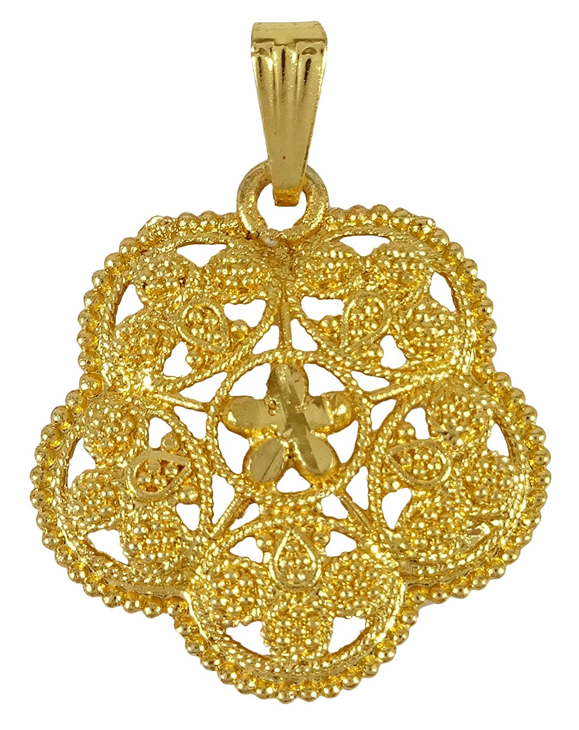 Ethnic Goldplated Designer Necklace Charm Chain Pendant Traditional Jewellery Engagement & Wedding