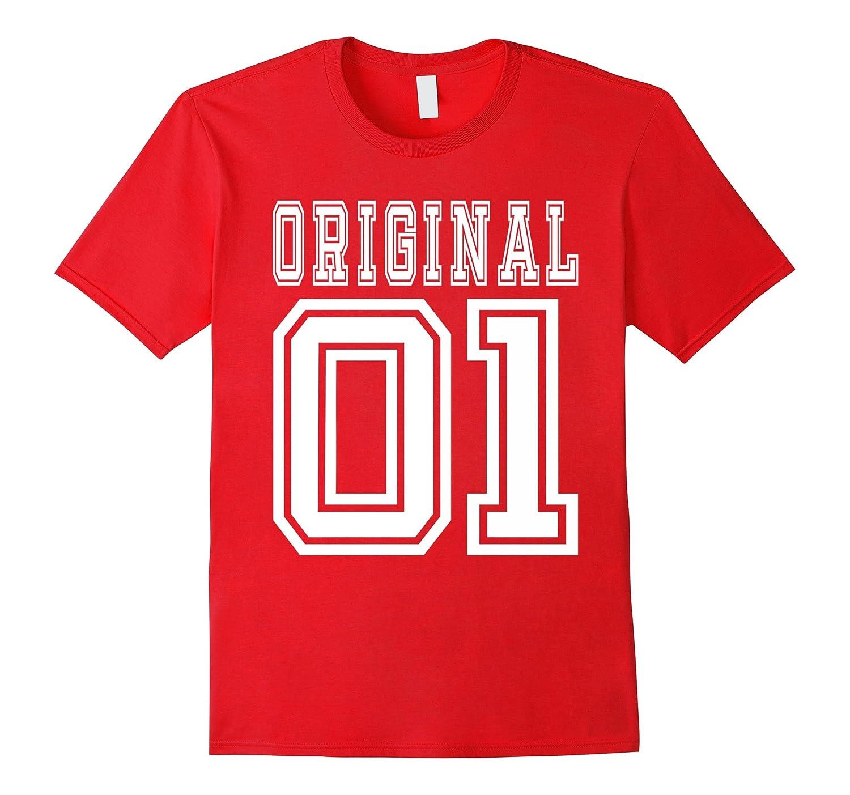 15th Birthday Gift Idea 15 Year Old Boy Girl Shirt 2001 CL Colamaga