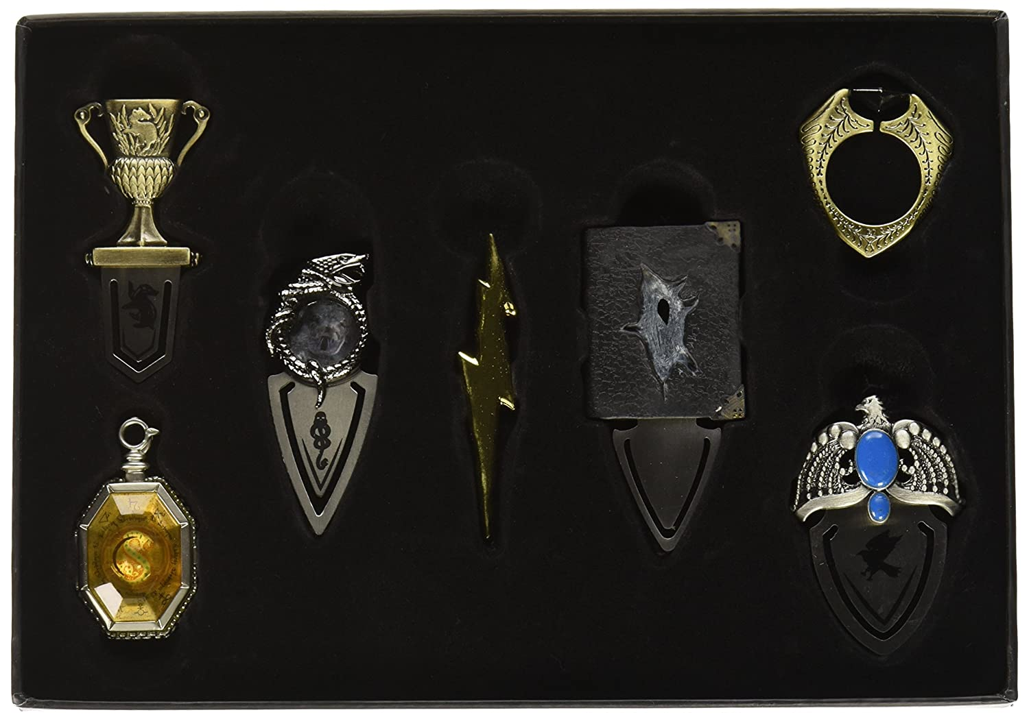 Coleccion De 7 Marcapaginas De Horrocruxes, Harry Potter Xmp