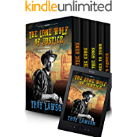 The Lone Wolf of Justice: A Classic Western 5 Book Box Set