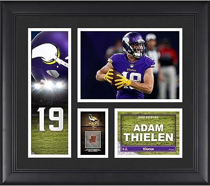 ADAM THIELEN PLAQUE MINNESOTA VIKINGS FOOTBALL NFL