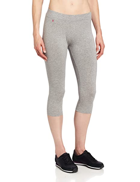 b2fd728caac0b Pact Women's Black Cropped Legging, Heather Grey, X-Small at Amazon Women's  Clothing store: Leggings Pants