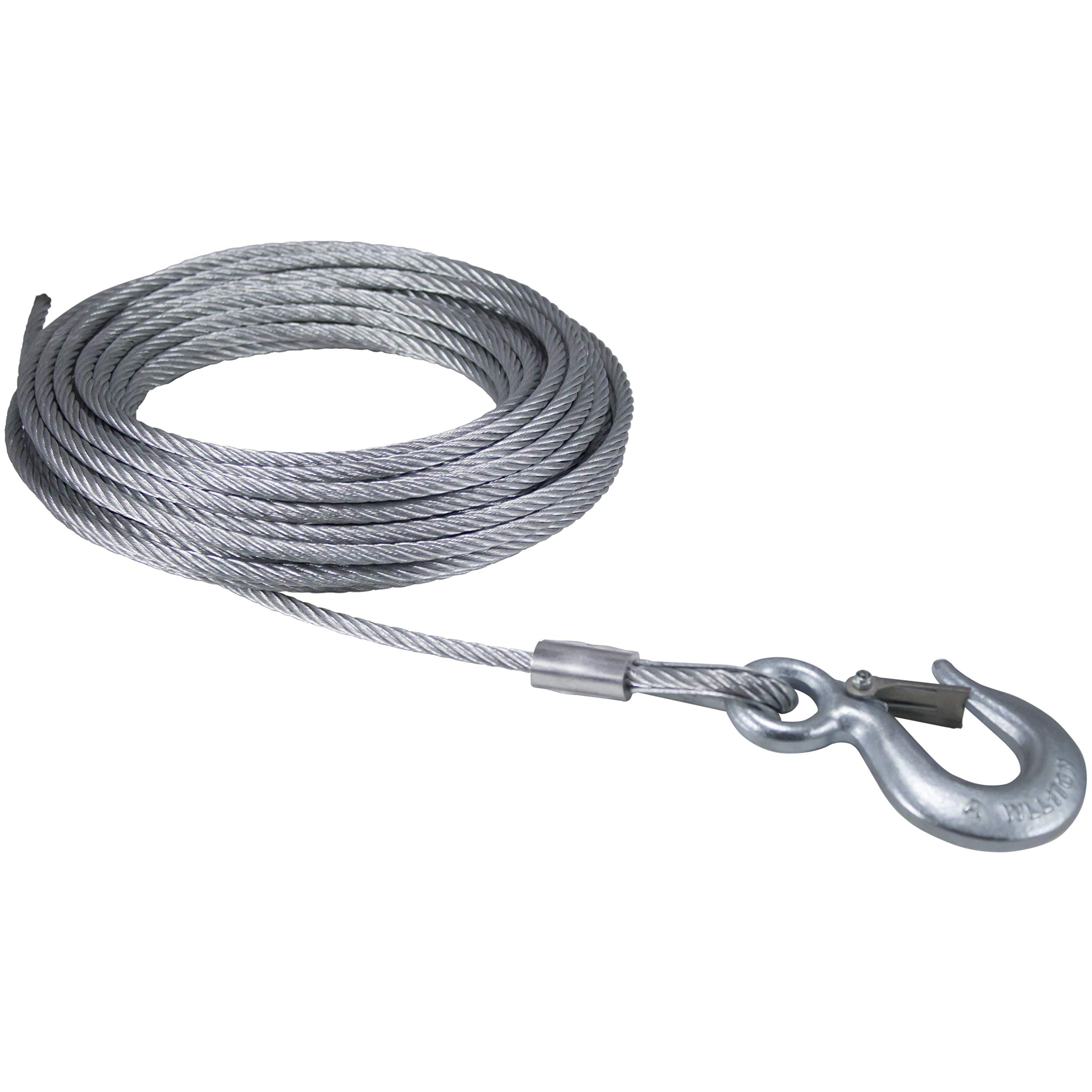 Goldenrod Dutton-Lainson 6524 Cable with Hook 1/4- Inch x 50- Feet