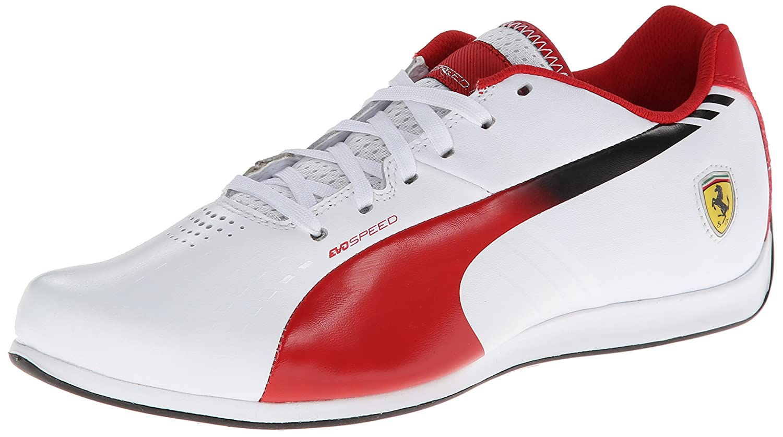 Puma Ferrari  Shoes Red White Black