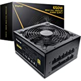 Segotep 650W Fully-Modular Gaming Power Supply 80 Plus Gold Certified PSU with Silent 140mm Fan