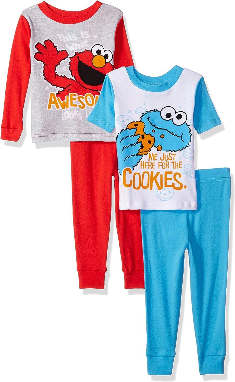 Sesame Street Infant Boys 2-Piece Pajama Pant Set Size 12M 18M 24M $34
