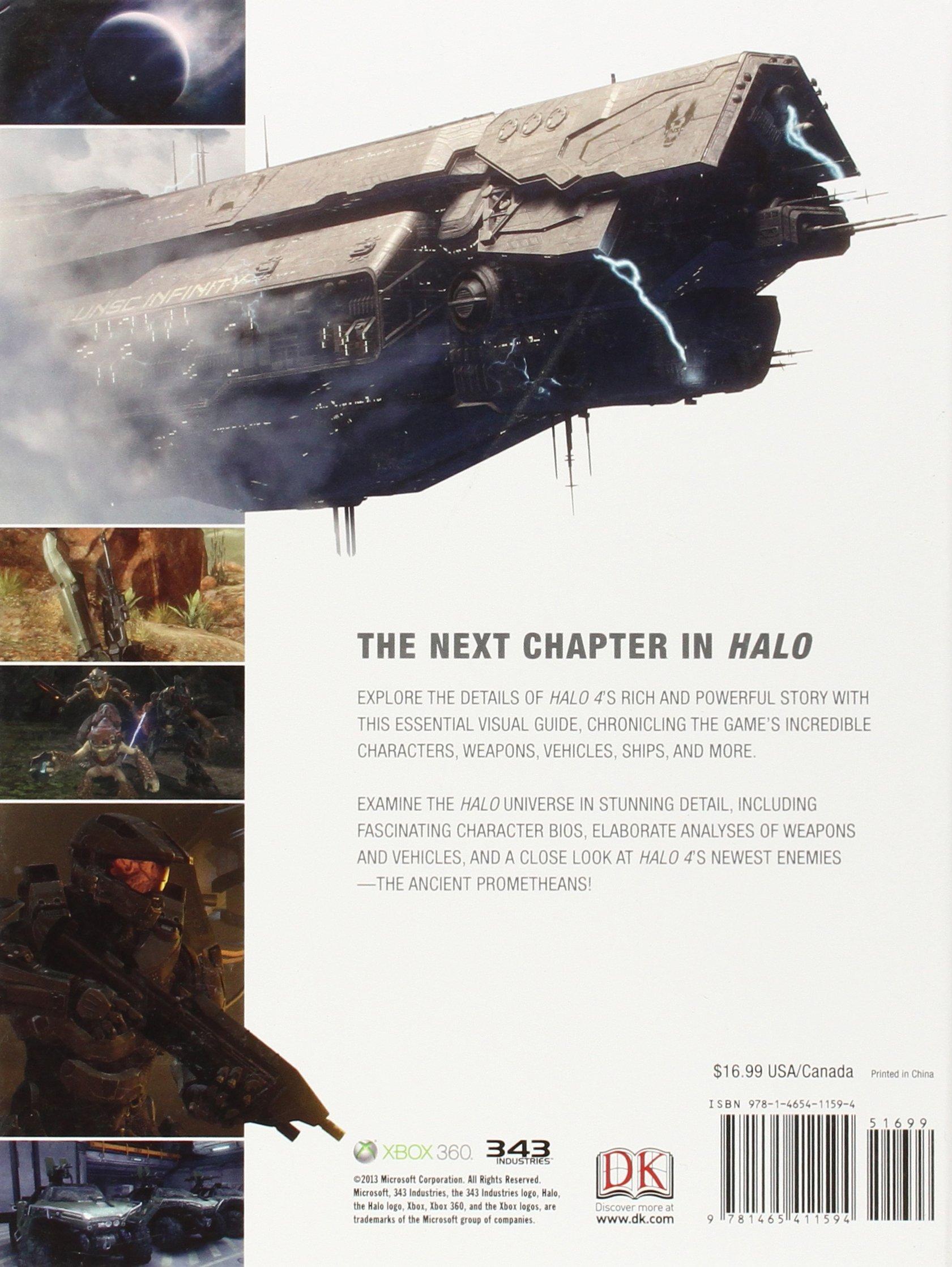 Halo 4 The Essential Visual Guide Dk Publishing 9781465411594 Amazon Com Books