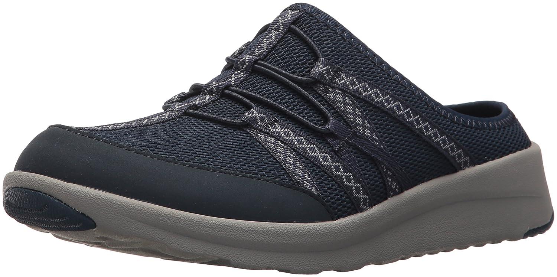 CLARKS Women's Darleigh Myra Sneaker B071KBH3FQ 11 B(M) US|Navy Mesh Textile