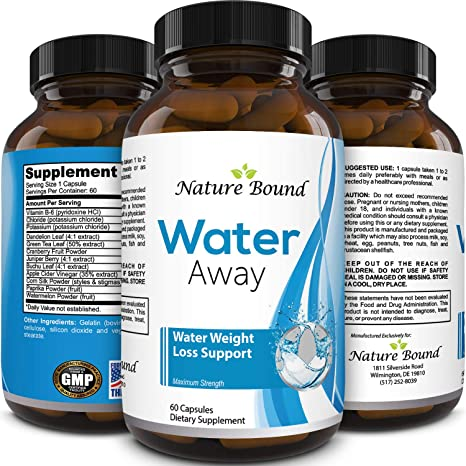 vitamin b6 to lose water weight