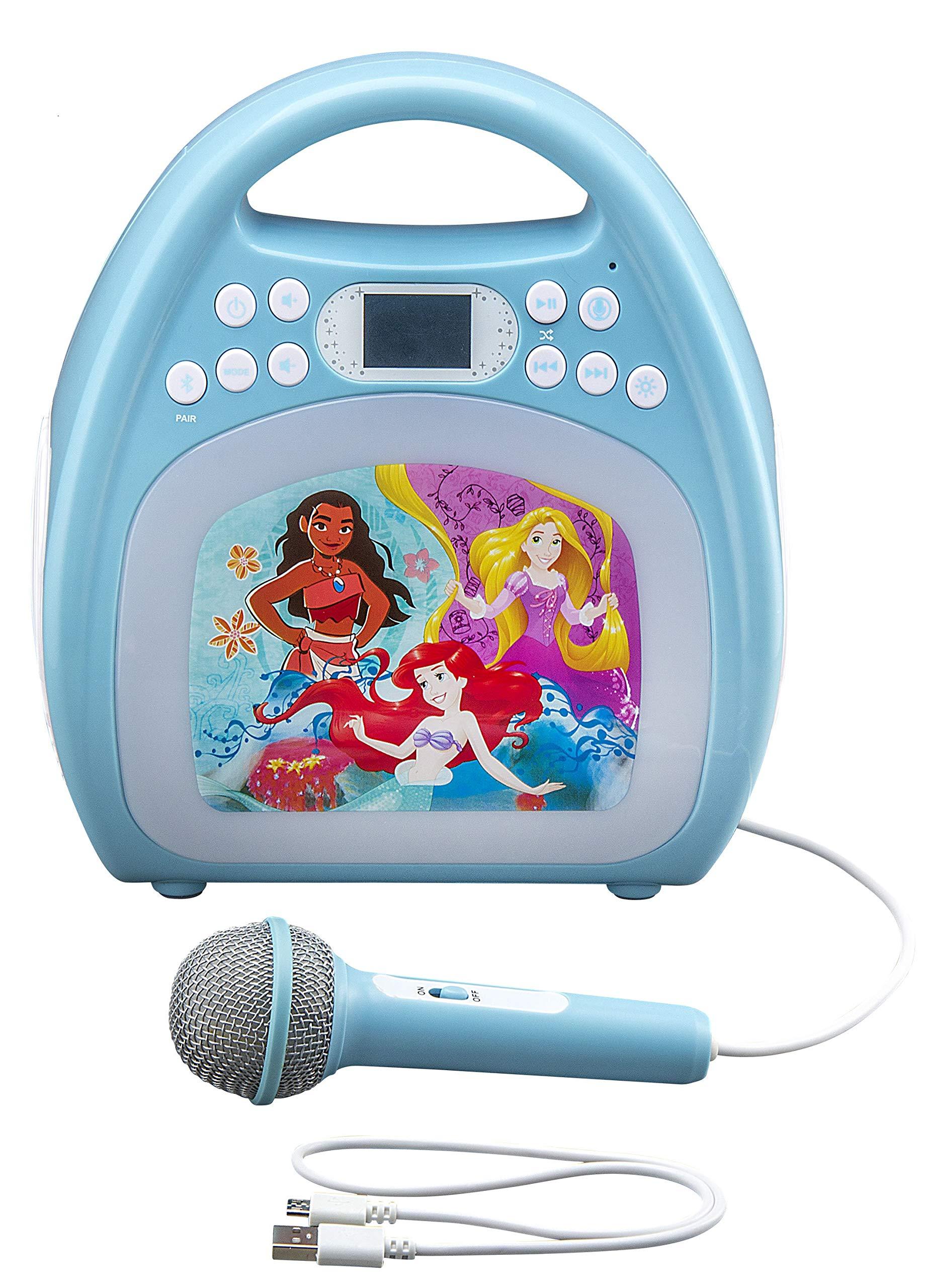kiddesigns, inc. Disney Bluetooth MP3 Karaoke with Light Show - Disney Princesses by kiddesigns, inc. (Image #1)