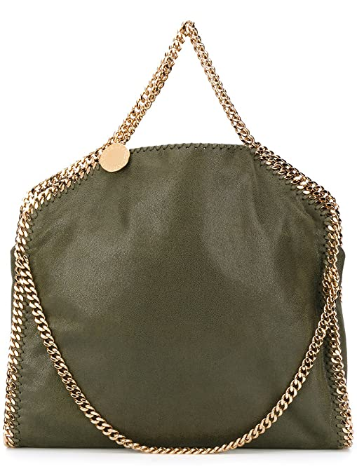 0f69ff5a1d08 Stella Mccartney Women s 234387W93553200 Green Polyester Tote  Amazon.ca   Luggage   Bags